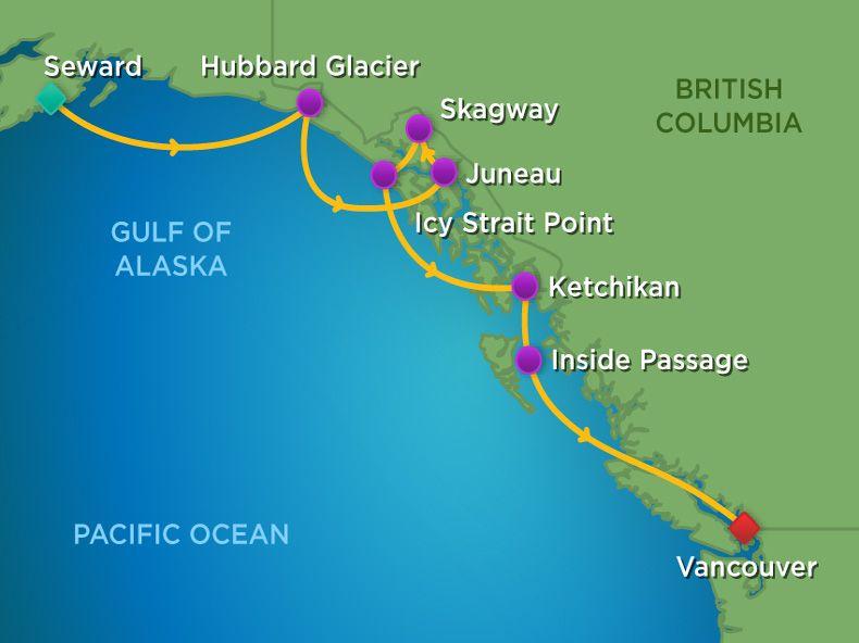 Icy Strait Point Alaska Map.Offer Details Camden Travel Service Inc